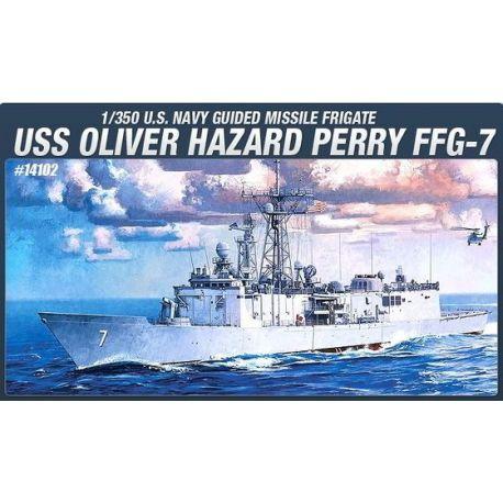 USS Oliver Hazard Perry - FFG-7