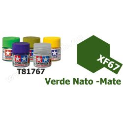 XF-67 Pintura Acrilica Verde Nato, Mate
