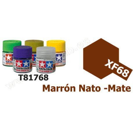 XF-68 Pintura Acrilica Marron Nato, Mate