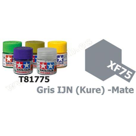 XF-75 Pintura Acrilica Gris IJN (Kure), Mate