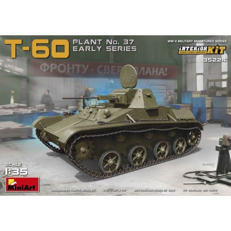 T-60 Plant No.37 Early Series