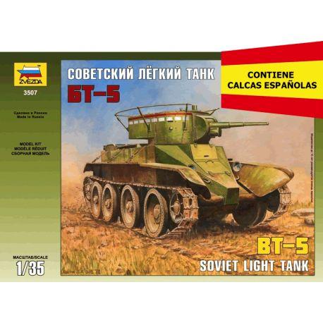 BT-5 Soviet Light Tank
