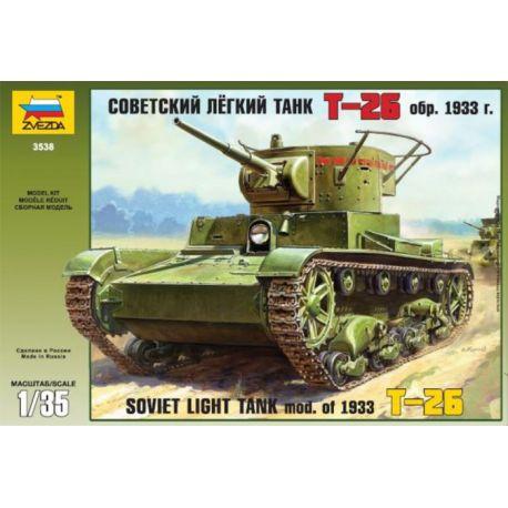 Soviet Light Tank T-26 mod. 1933