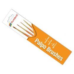 Pinceles PALPO -Pack (nº 000/0/2/4)