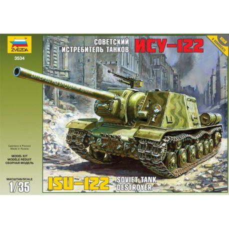 Soviet Tank Destroyer ISU-122