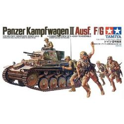 German Panzer Kampfwagen II Ausf. F/G