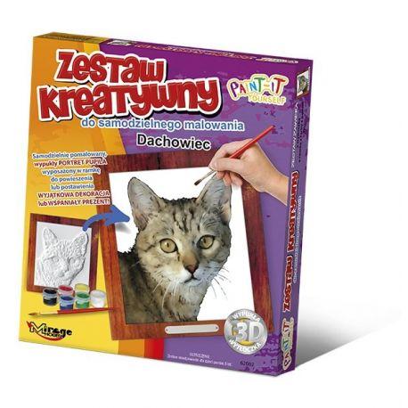Set de Pintura 3D - Gato común