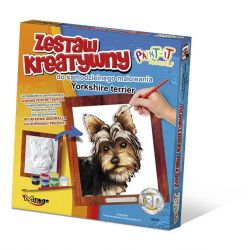 Set de Pintura 3D - Yorkshire terrier