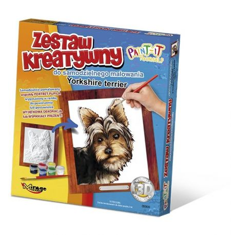 Set de Pintura 3D - Yorkshire terrier