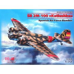 SB 2M-100 katiushka - Fuerza Aérea Española