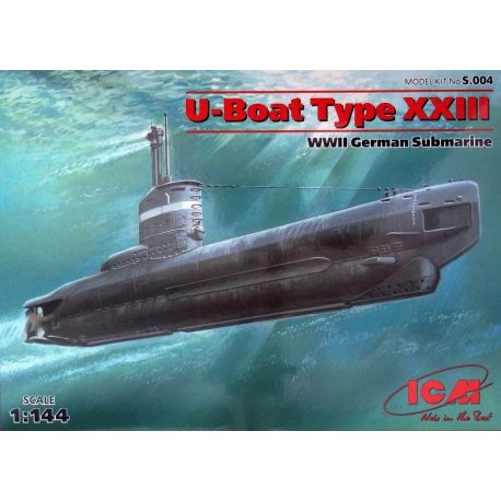 Submarino Alemán U-boot type XXIII