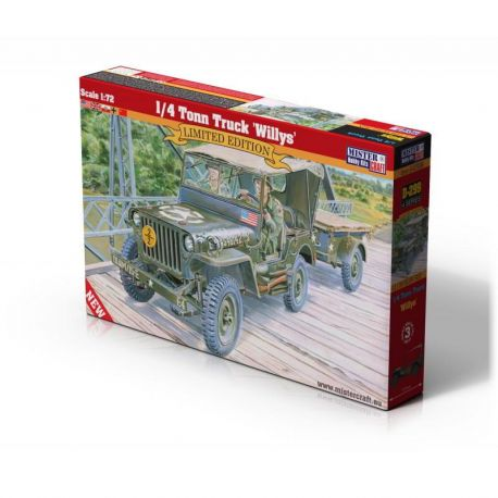1/4 Tonn Truck Willys