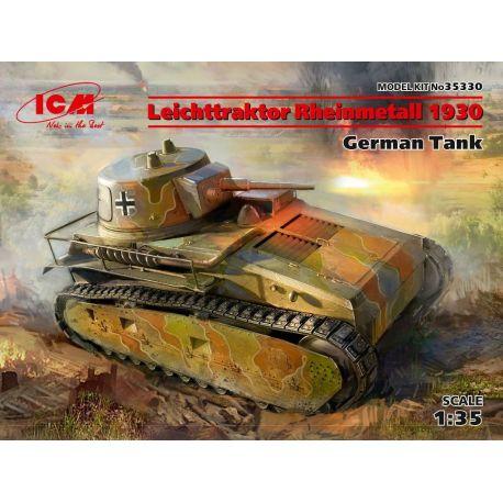 Leichttraktor Rheinmetall 1930, German Tank
