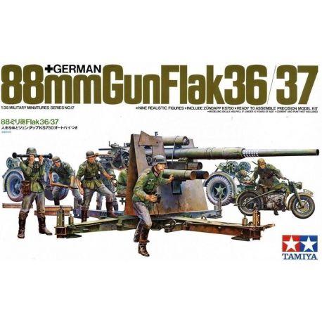 German 88mm Gun Flak36/37
