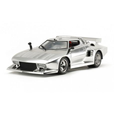 Lancia Stratos Turbo - Silver Plated