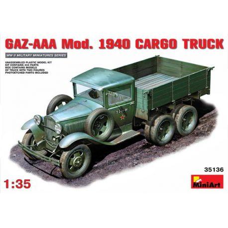 GAZ-AAA Mod.1940 CARGO TRUCK