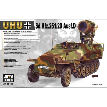 Sd.Kfz.251/20 Ausf.D UHU