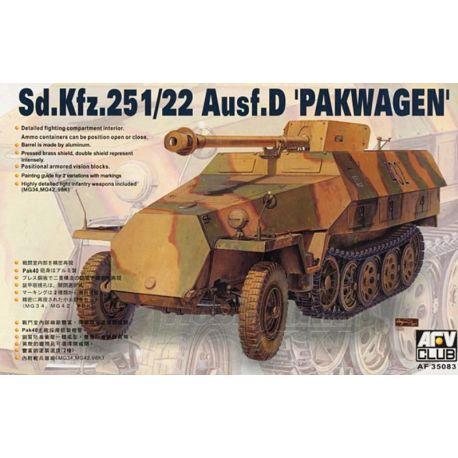 Sd.Kfz.251/22 Ausf.D Pakwagen