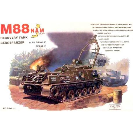 M88 Recovery Tank - Bergepanzer