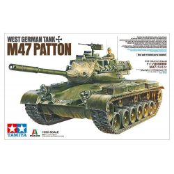 West German Tank M47 Patton