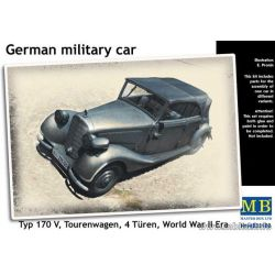 German military car, Typ 170 V, Tourenwagen, 4 Türen, 1937-1940