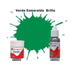 Verde Esmeralda Brillo - Humbrol 0002