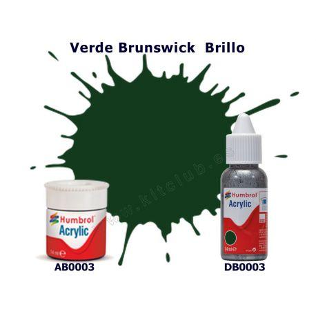 Verde Brunswick Brillo - Humbrol 0003