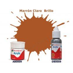 Marrón Claro Brillo - Humbrol 0009