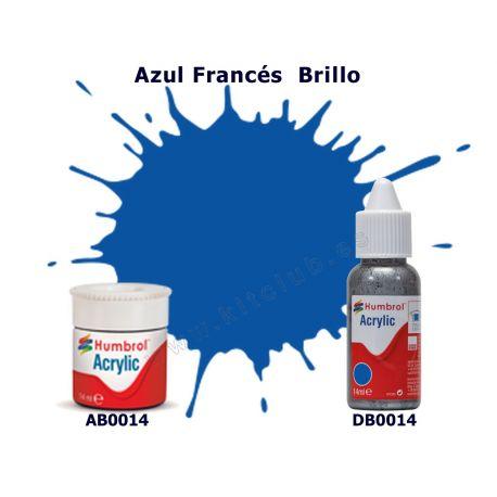 Azul Francés Brillo - Humbrol 0014