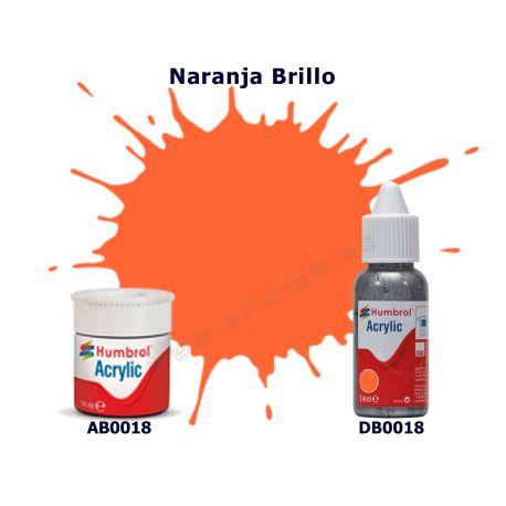 Naranja Brillo - Humbrol 0018