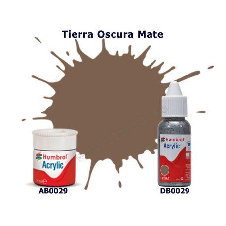 Tierra Oscura Mate - Humbrol 0029