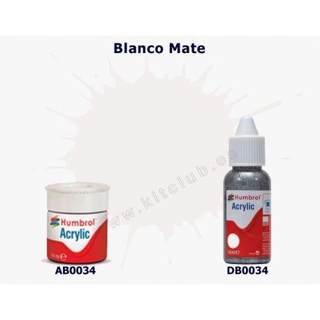 Blanco Mate - Humbrol 0034