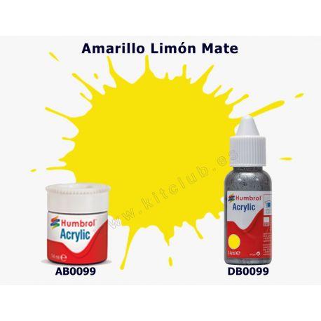 Amarillo Limón Mate - Humbrol 0099