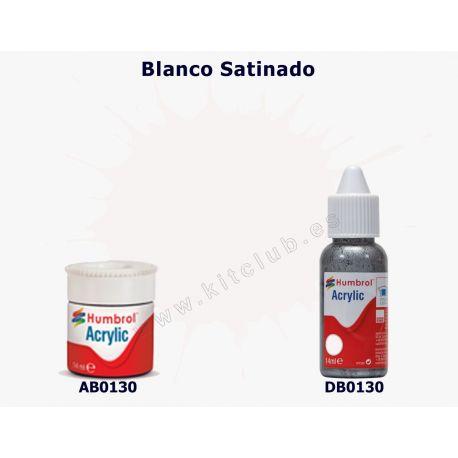Blanco Satinado - Humbrol 0130