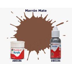 Marrón Mate - Humbrol 0186