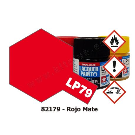 LP-79 Rojo - Mate