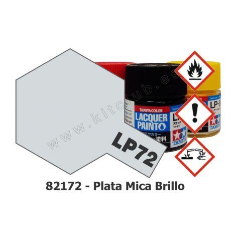LP-72 Plata Mica - Brillo