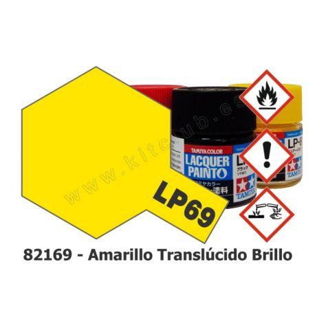 LP-69 Amarillo Translúcido - Brillo