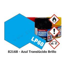 LP-68 Azul Translúcido - Brillo