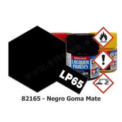 LP-65 Negro Goma - Mate