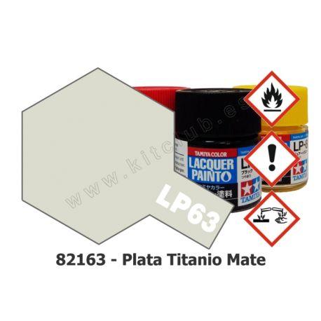 LP-63 Plata Titanio - Mate