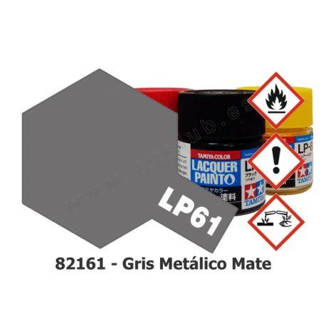 LP-61 Gris Metálico - Mate