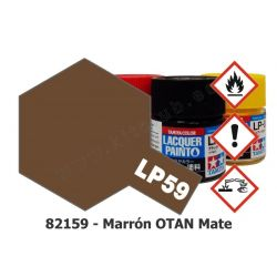 LP-59 Marrón OTAN - Mate