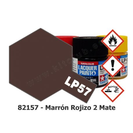LP-57 Marrón Rojizo 2 - Mate