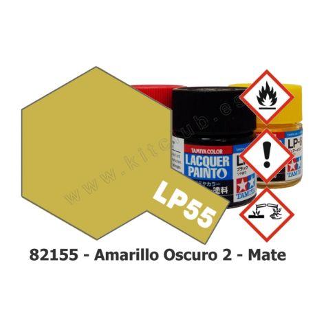 LP-55 Amarillo Oscuro 2 - Mate