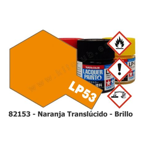 LP-53 Naranja Translúcido - Brillo