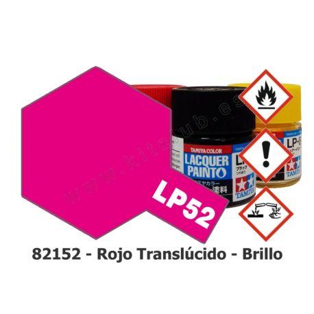 LP-52 Rojo Translúcido - Brillo