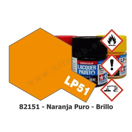 LP-51 Naranja Puro - Brillo