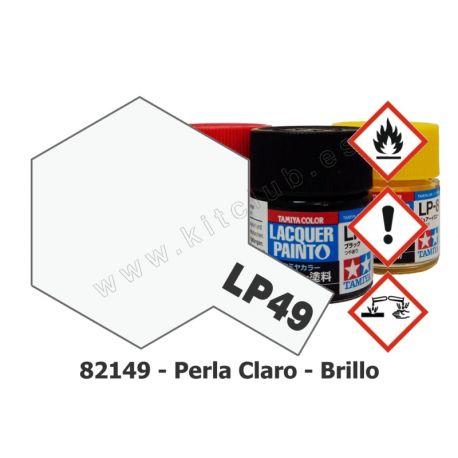 LP-49 Perla Transparente - Brillo