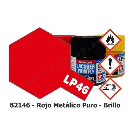 LP-46 Rojo Metálico Puro - Brillo